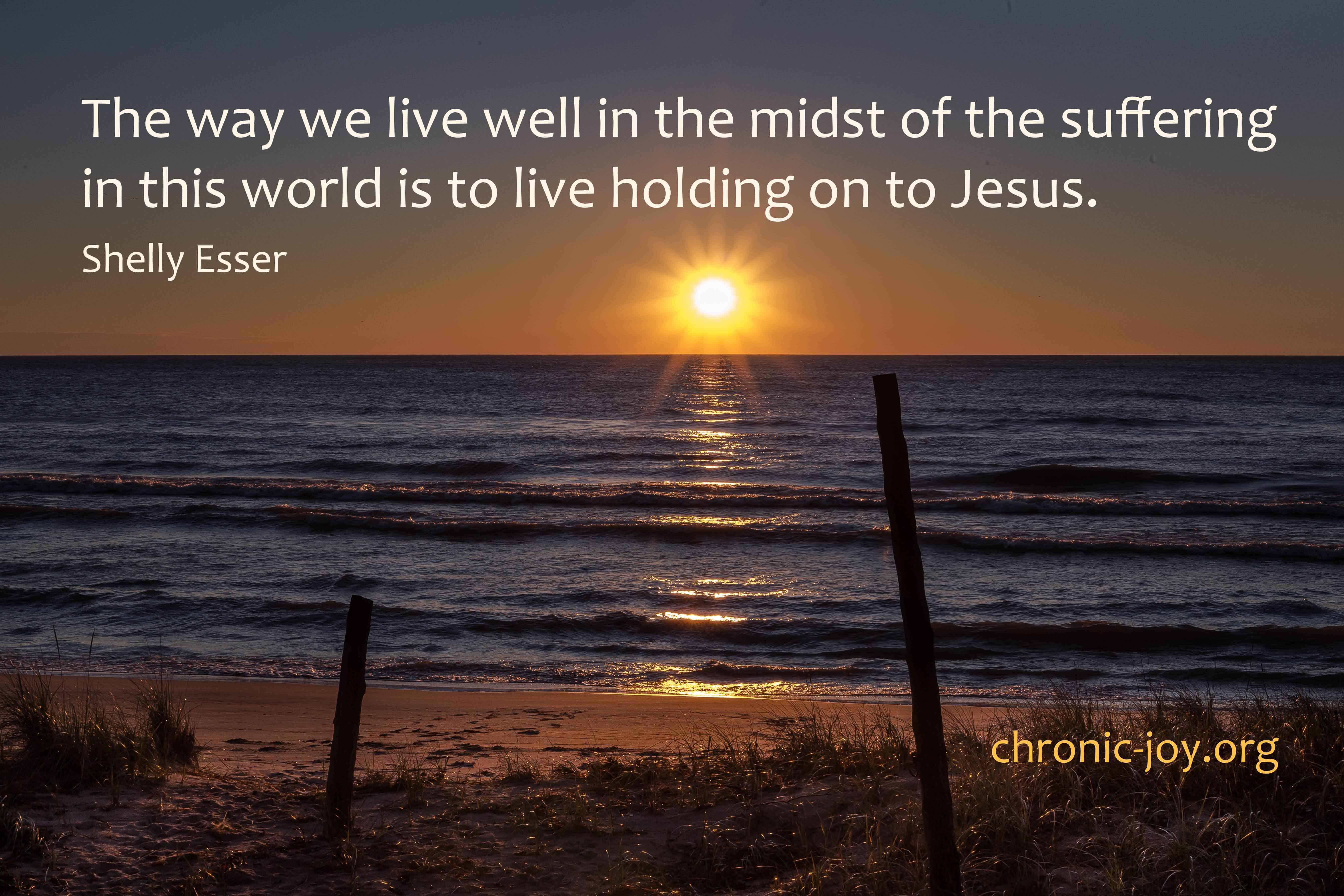 The way we love well in the midst of suffering...