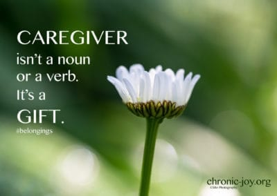 Caregiver is a gift.