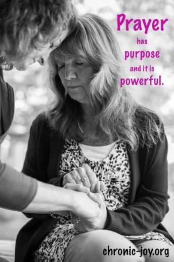 Prayer has a purpose and it's powerful.
