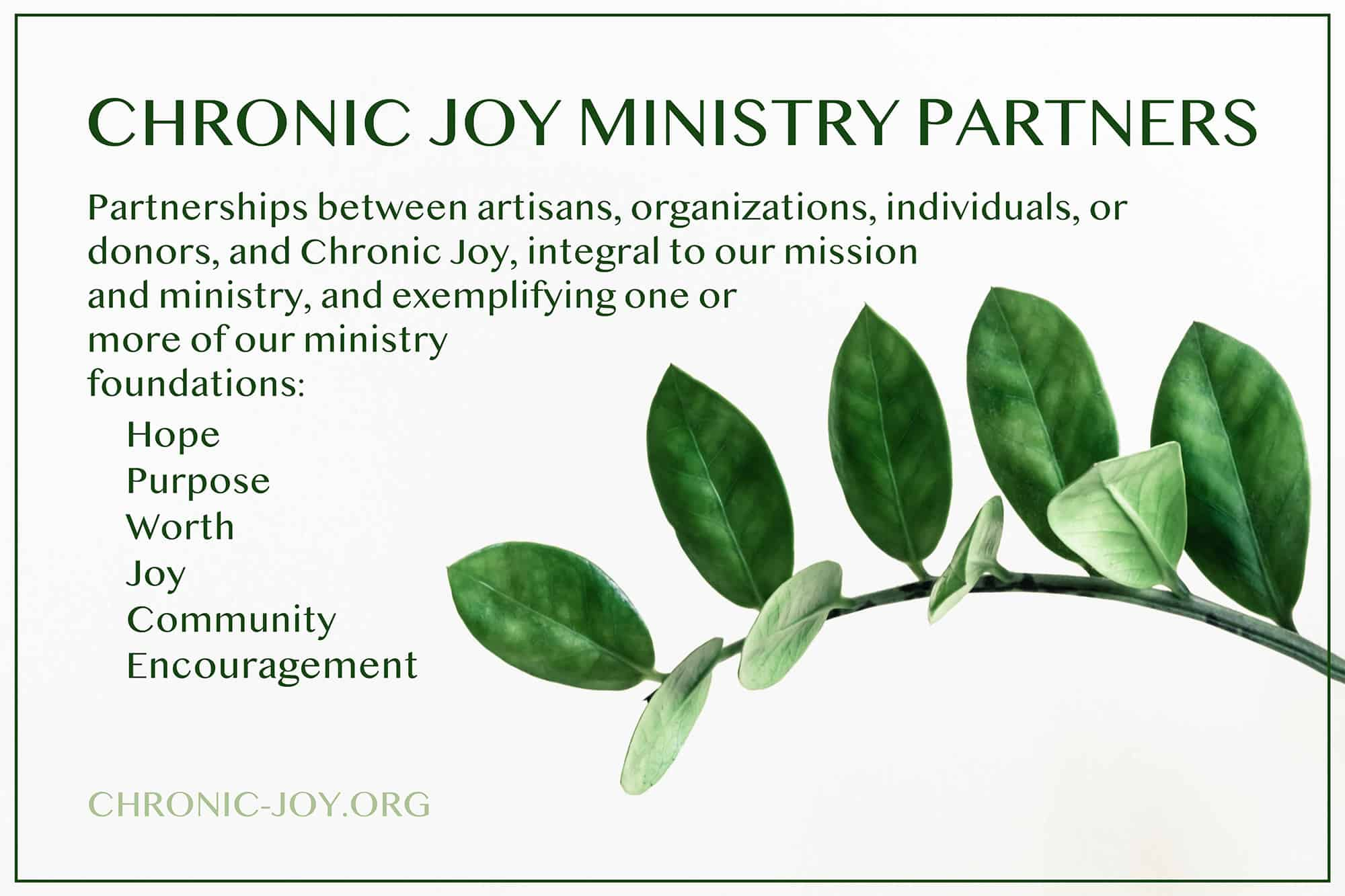 Meet Our Ministry Partners