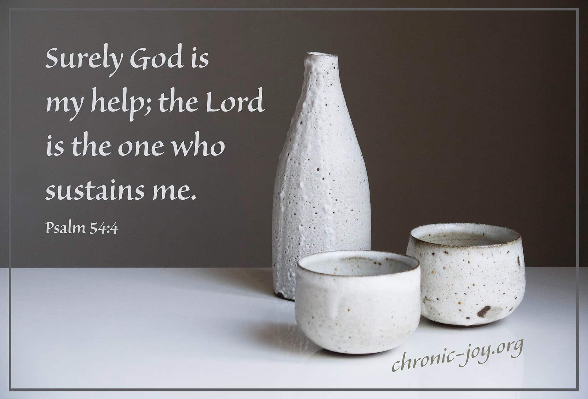 Little Pot of OilSurely God is my help