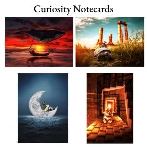 Curiosity Notecards