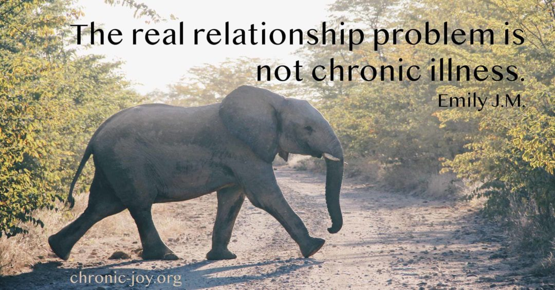 when chronic illness affect relationship, part 2