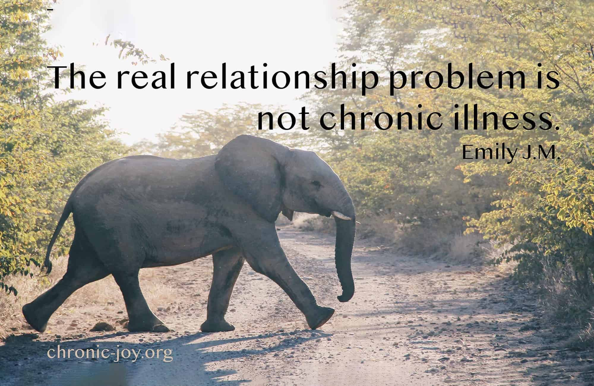 When Chronic Illness Affects Relationships – Part 2