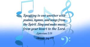 Sing and make music from your heart to the Lord.