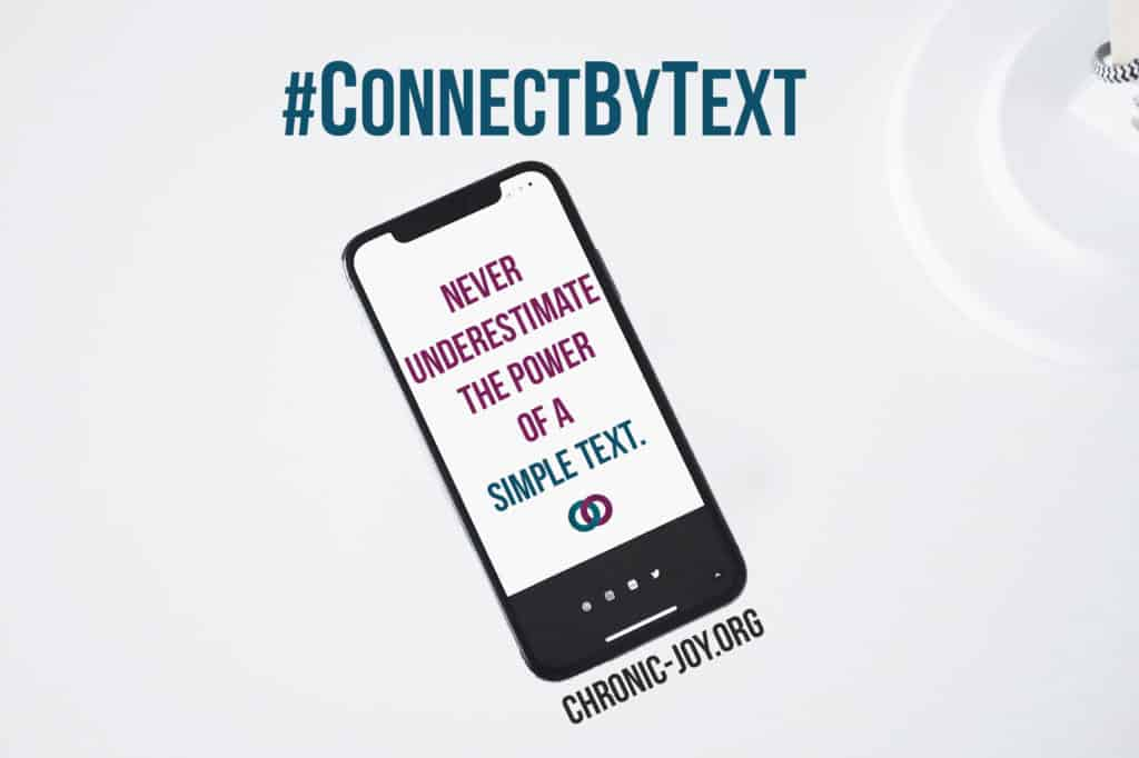 #ConnectByText • Never underestimate the power of a simple text.