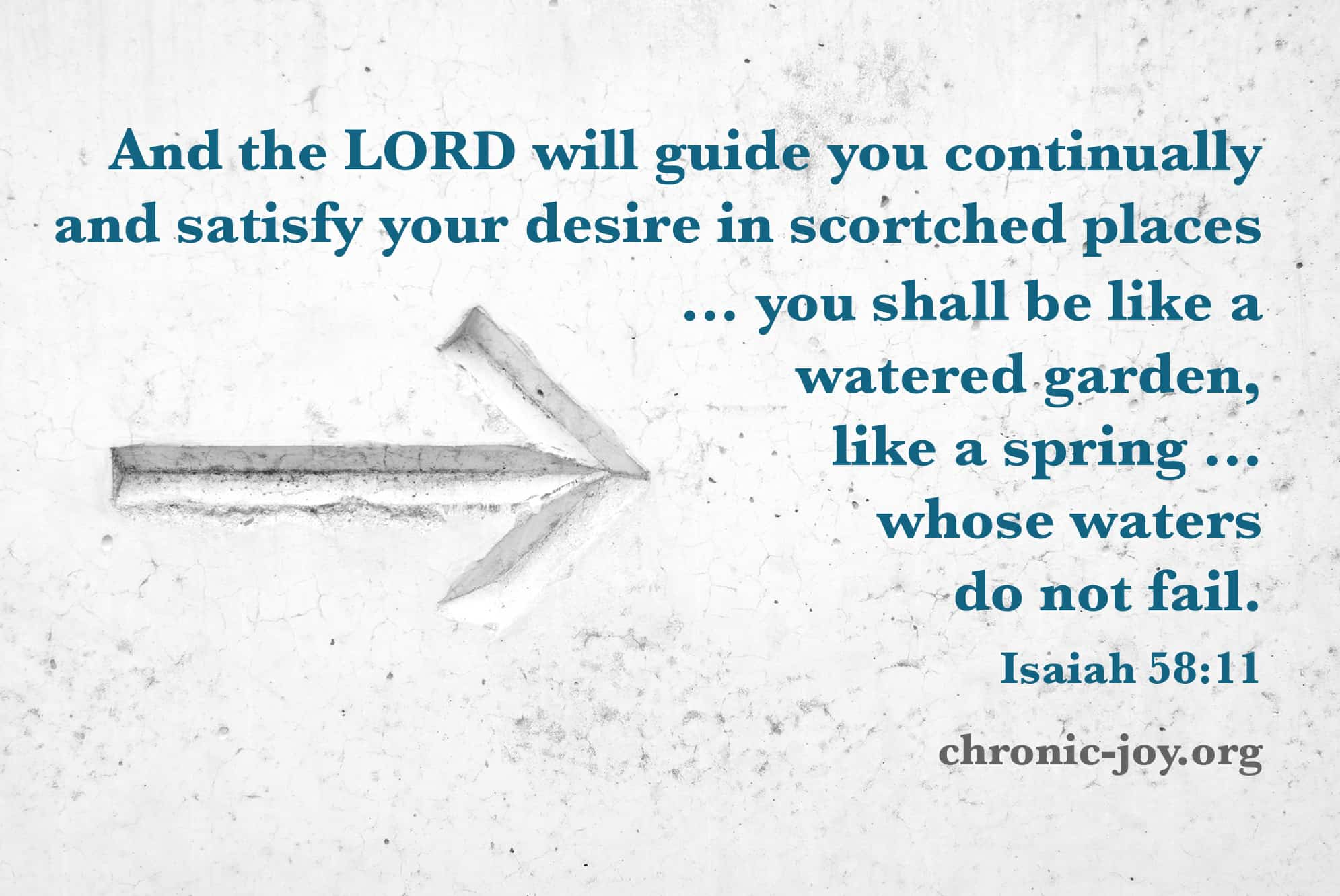 Leading: God Is My Guide and Safety
