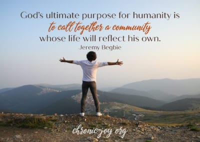 God's Purpose for Community