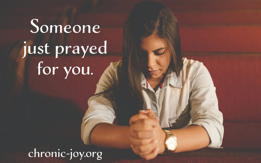 Someone Just Prayed for You in the Midst of the Hard