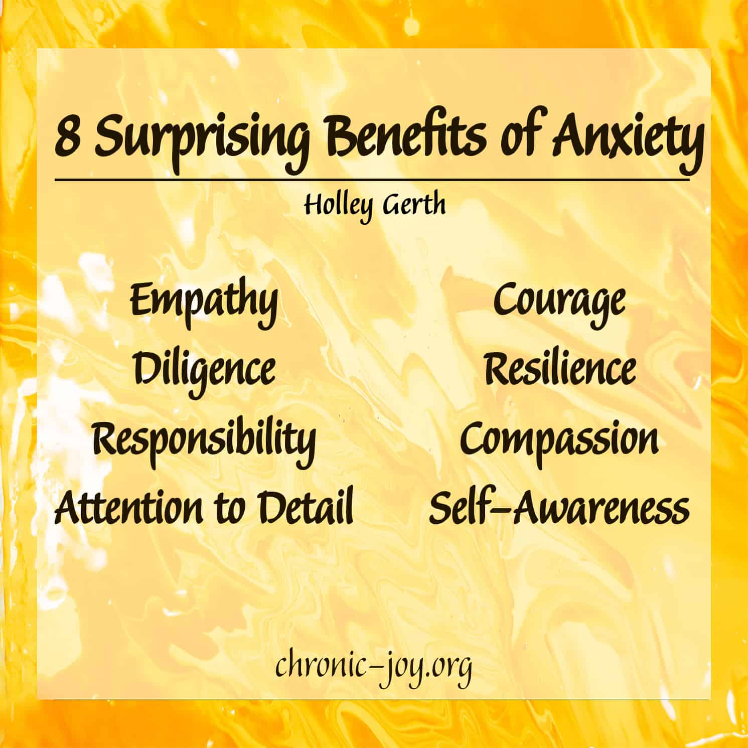 8 Surprising Benefits of Anxiety