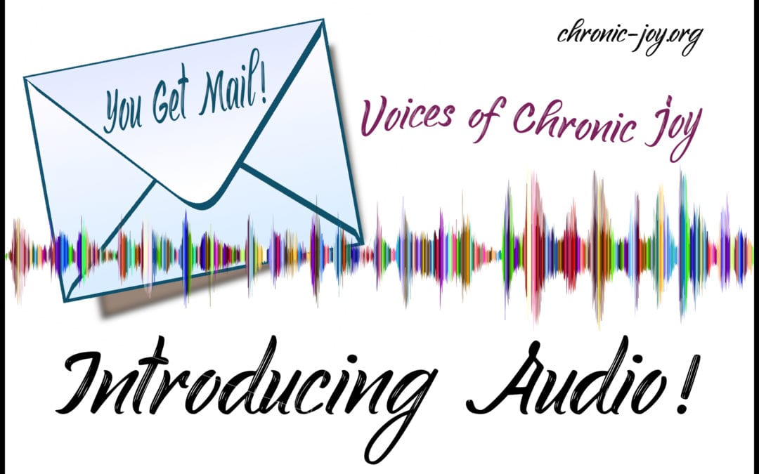 💿  New Audio Blogs & 📫  You Get Mail!