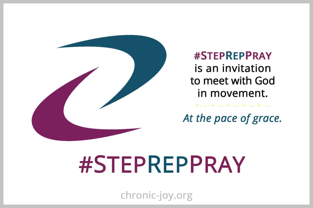 #StepRepPray is an invitation to meet with God in movement.
