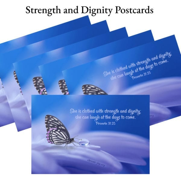 Strength and Dignity Postcards
