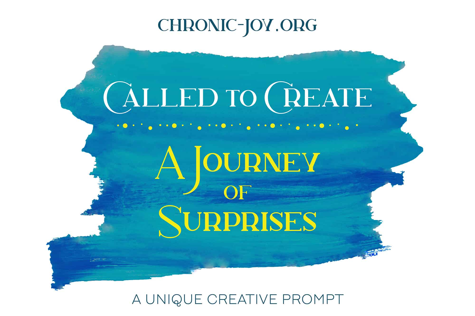 Called to Create - A Journey of Surprises