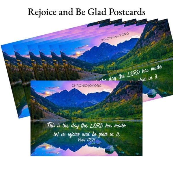 Rejoice and Be Glad Postcards