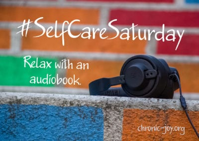 Relax with an audiobook.