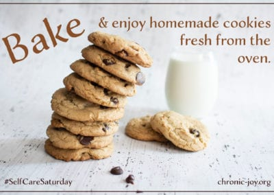 Bake and enjoy homemade cookies fresh from the oven.