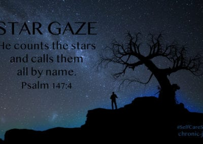 "Star Gaze • ""He counts the stars and calls them all by name."" Psalm 147:4"