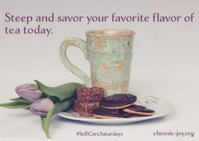 Steep and savor your favorite flavor of tea today.