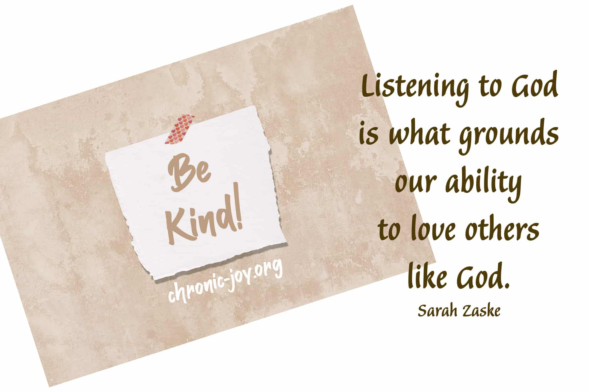 Listening as a Way of Loving Others Like Jesus