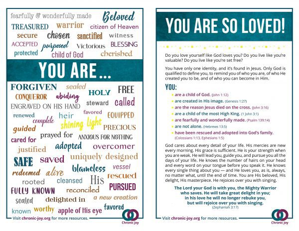 You Are So Loved.