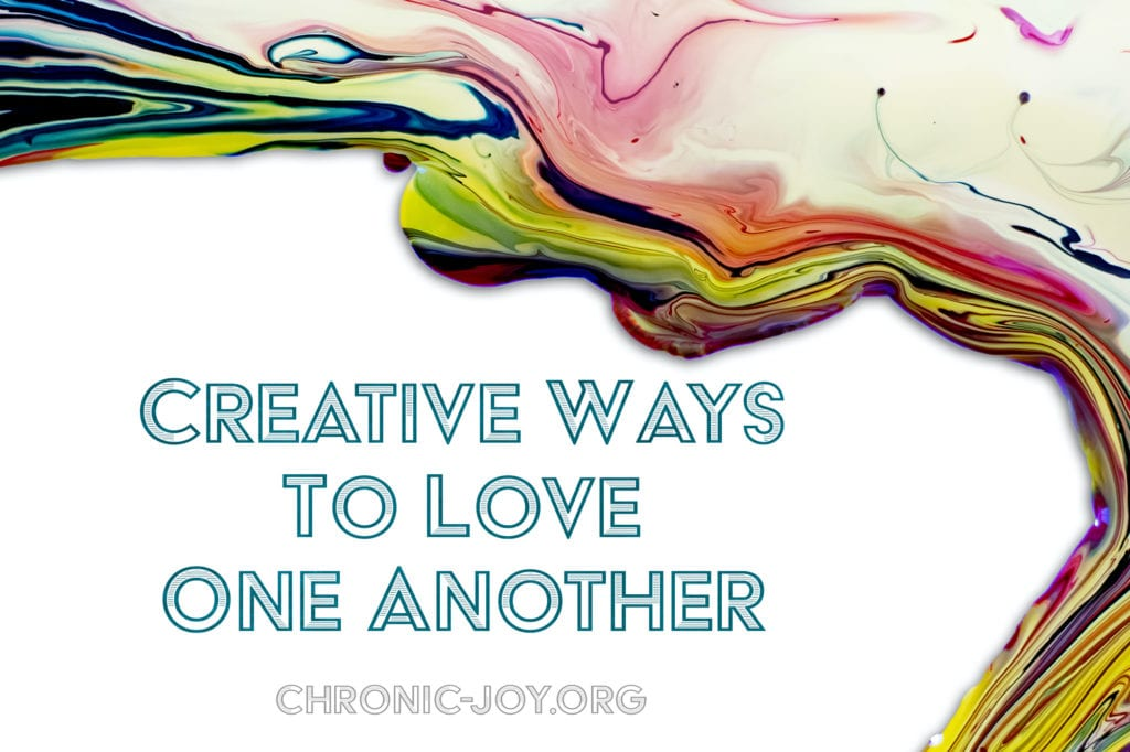 Creative ways to love one another.