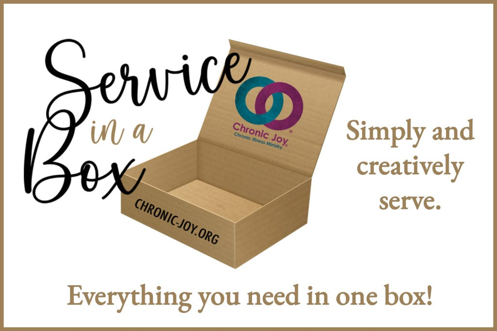 Service in a Box • Simply and creatively serve. Everything you need in one box!