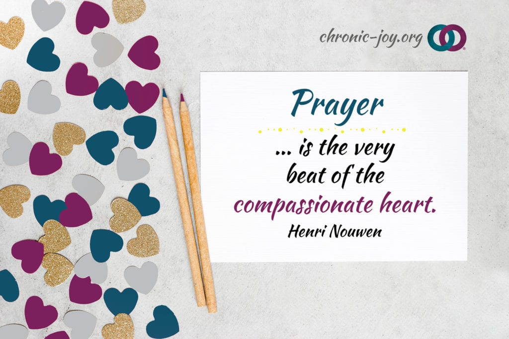 """Prayer … is the very beat of the compassionate heart."" Henri Nouwen"