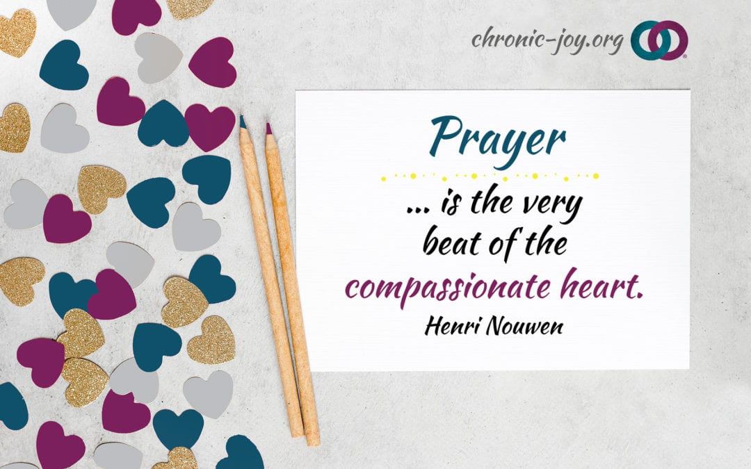 Develop Your Prayer Care Plan