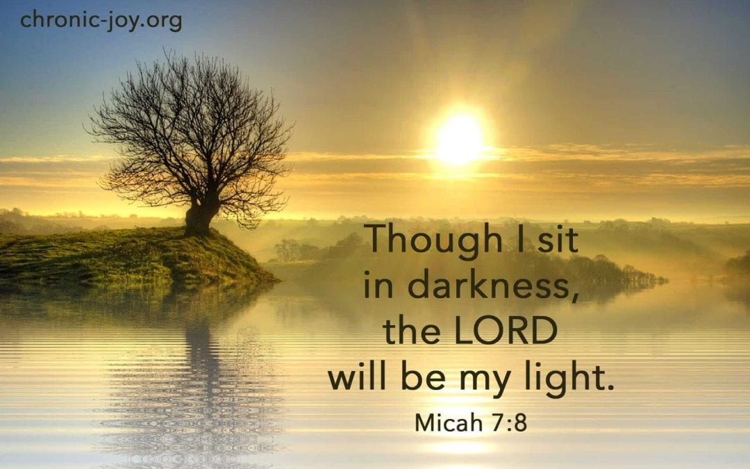 Though I Sit In Darkness