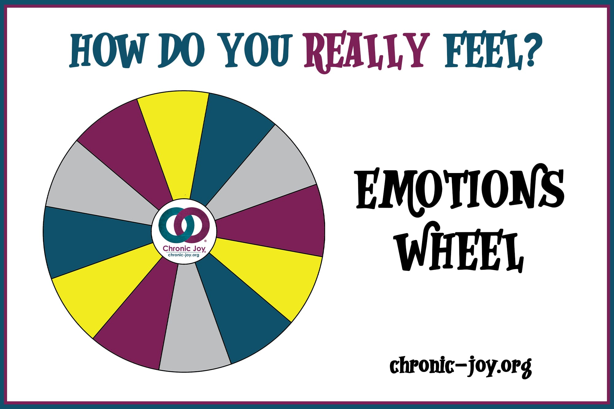 Emotions Wheel • How Do You Really Feel?
