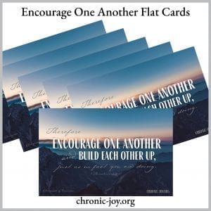 Encourage One Another Flat Cards