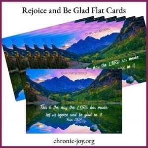 Rejoice and Be Glad Flat Cards