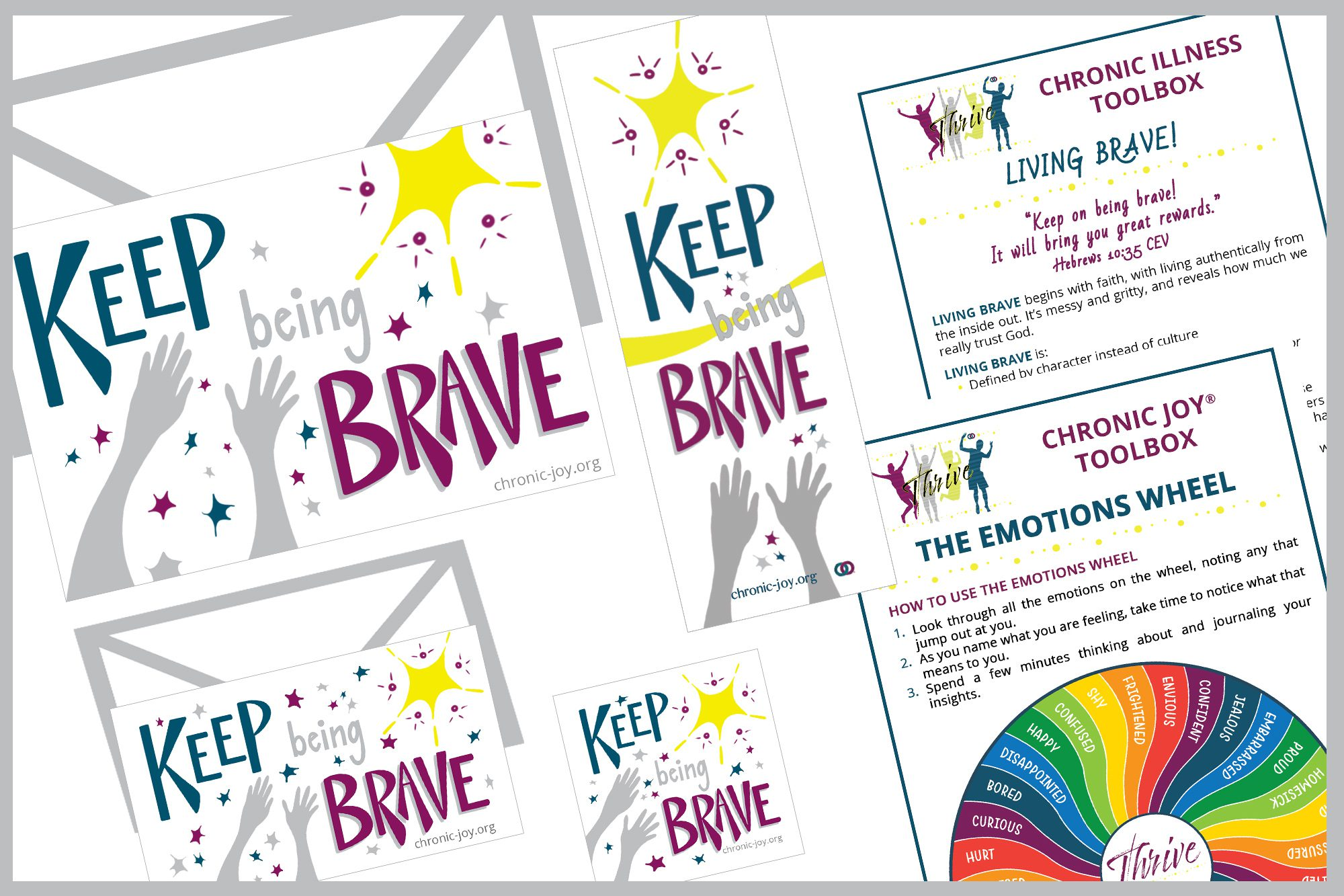 You Get Mail - Keep Being Brave - Teen & YA