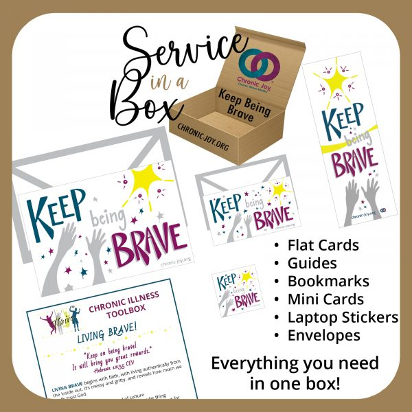 Service in a Box • Keep Being Brave
