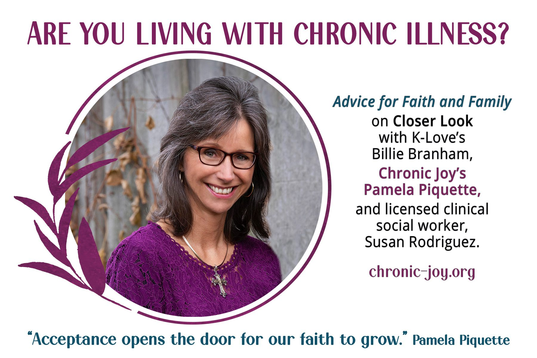 Are You Living With Chronic Illness?